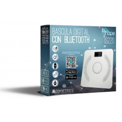 BASCULA DIGITAL CON BLUETOOTH