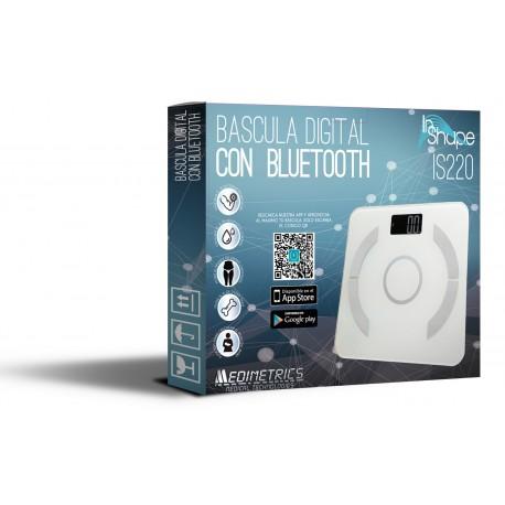 BASCULA DIGITAL CON BLUETOOTH