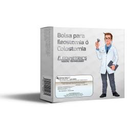 BOLSA PARA ILEOSTOMÍA O COLOSTOMÍA TAMAÑO ADULTO CAJA C/10